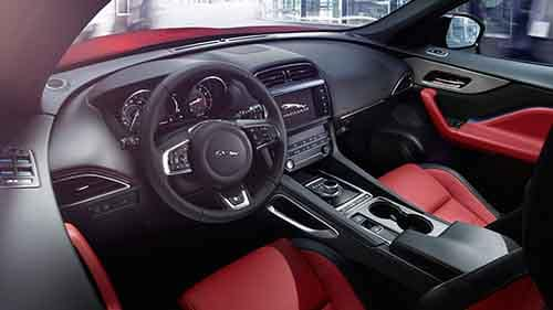 2018 Jagaur F-PACE Technology Interior