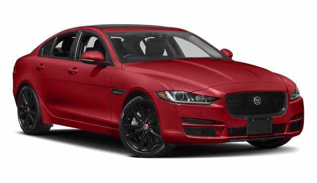 2018 Jaguar XE Red