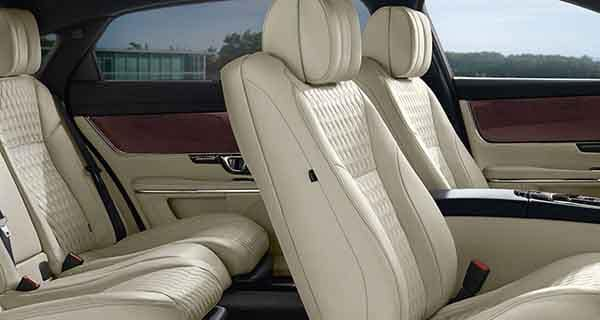 Jaguar XJ Interior Seating and Features