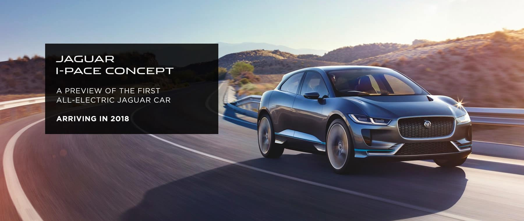 I-PACE concept Banner