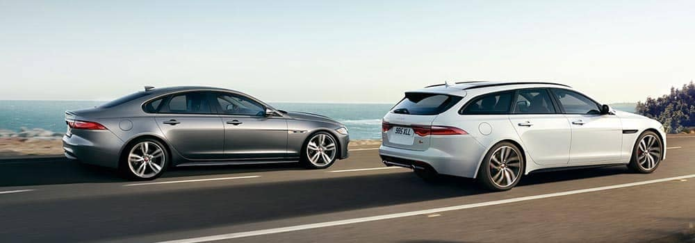 2018 Jaguar XF Models Driving