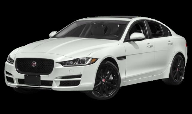 2019 white jaguar xe