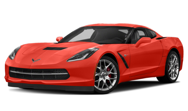 2019 chevrolet corvette orange