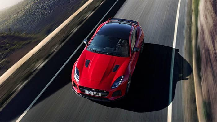 Jaguar F-TYPE Driving