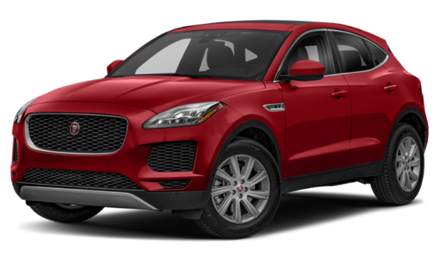 2019 jaguar e-pace red exterior