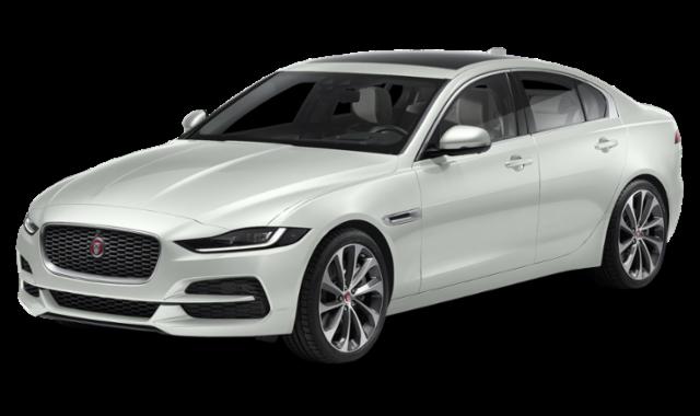 2020 jaguar xe white
