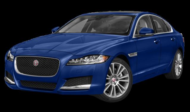 2020 jaguar xf blue comparison