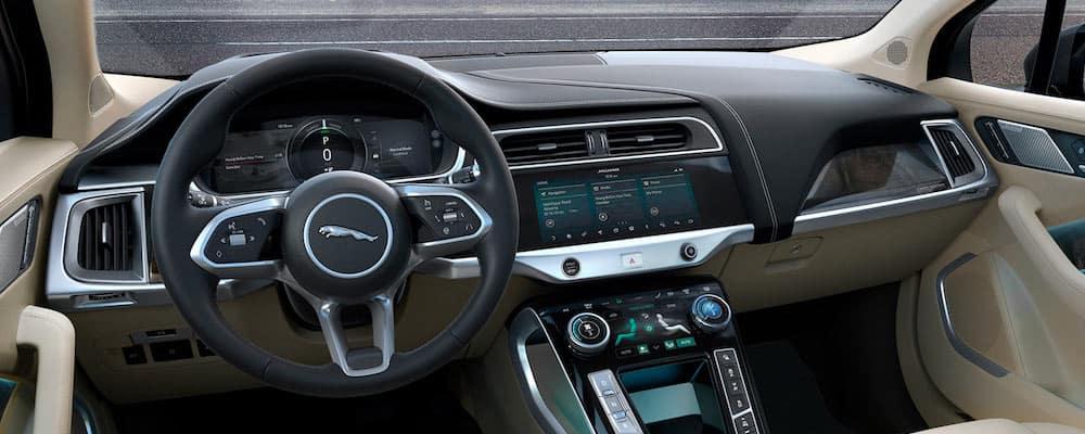 2020 Jaguar I-PACE Front Interior