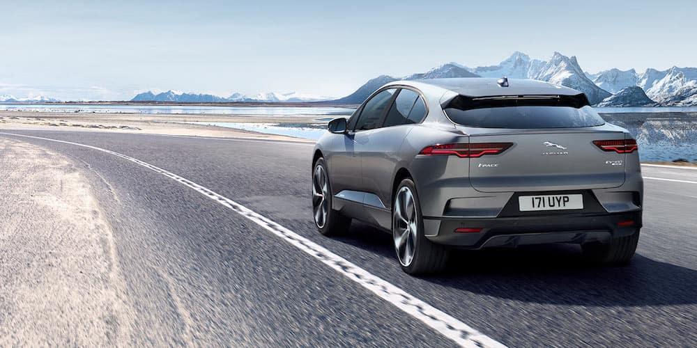 2020 Jaguar I-PACE on Highway