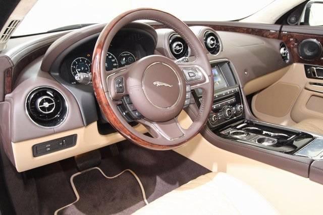 2017 Jaguar XJ luxurious interior Colorado Springs