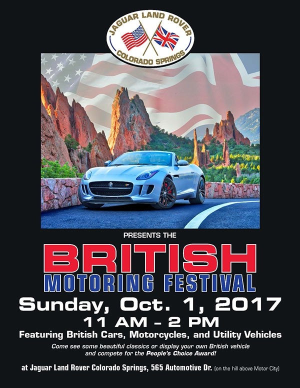 British Motoring Festival at Jaguar Colorado Springs