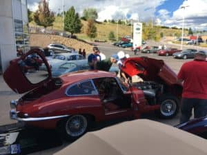 Vintage Jaguar Car Show at Jaguar Colorado Springs