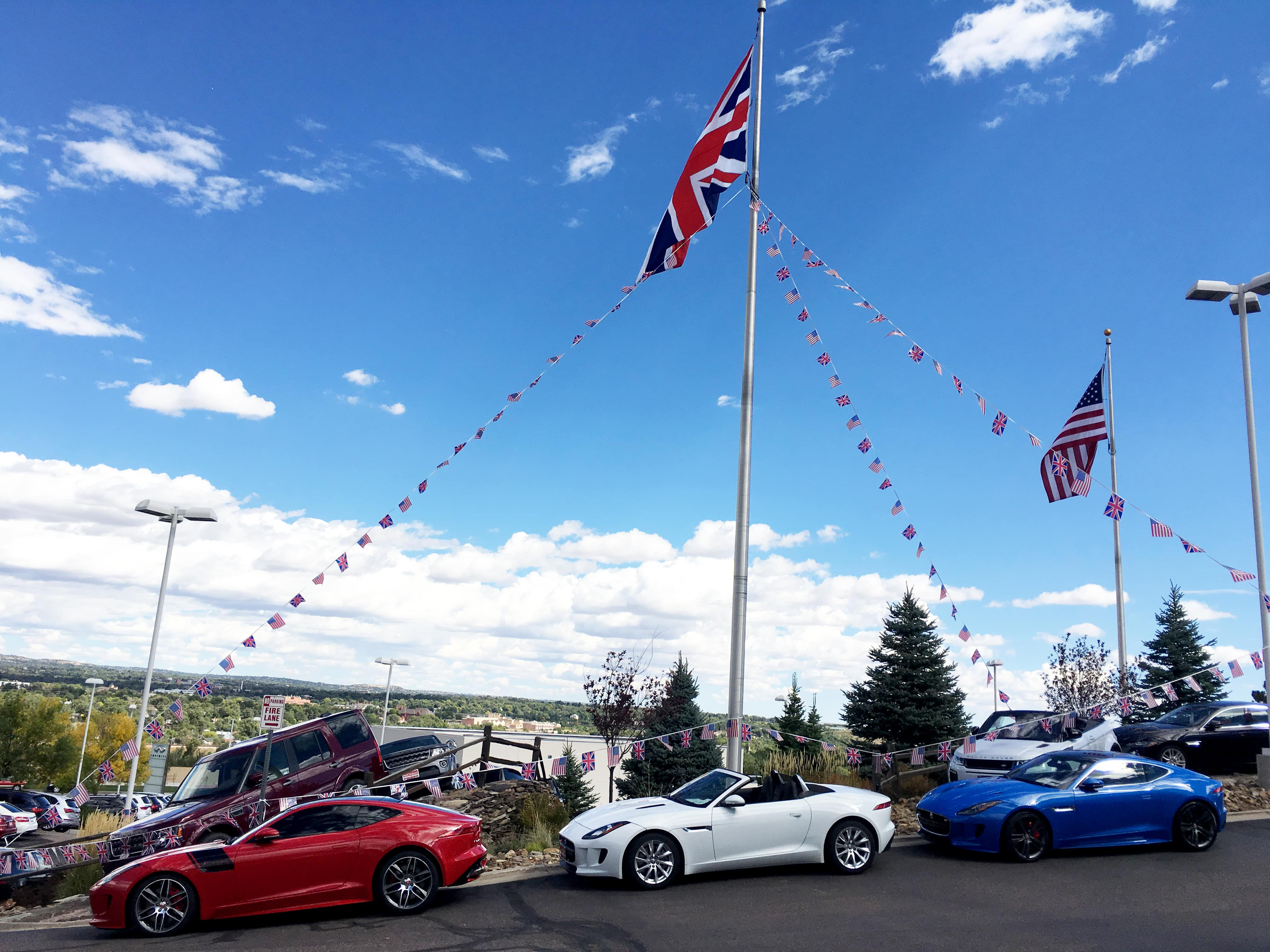 2018 British Motoring Festival At Jaguar Colorado Springs Spring Buffer Type F 2 Coupes And Convertible