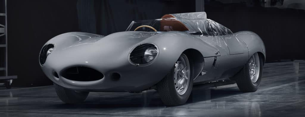 Jaguar D-Type Race Car