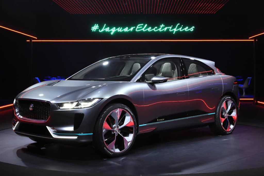 jaguar electrifies electric car suv in colorado springs