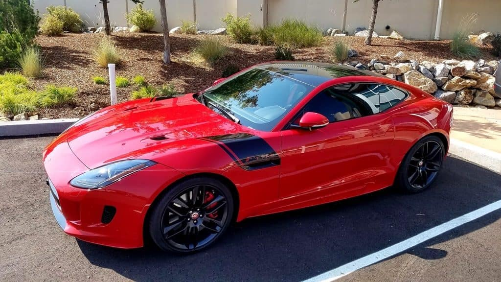 Gently pre-owned 2016 Jaguar F-TYPE