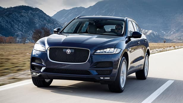 2018 F-PACE VIP Demo Special Offer