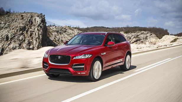 Certified Pre-Owned 2018 Jaguar F-PACE Models