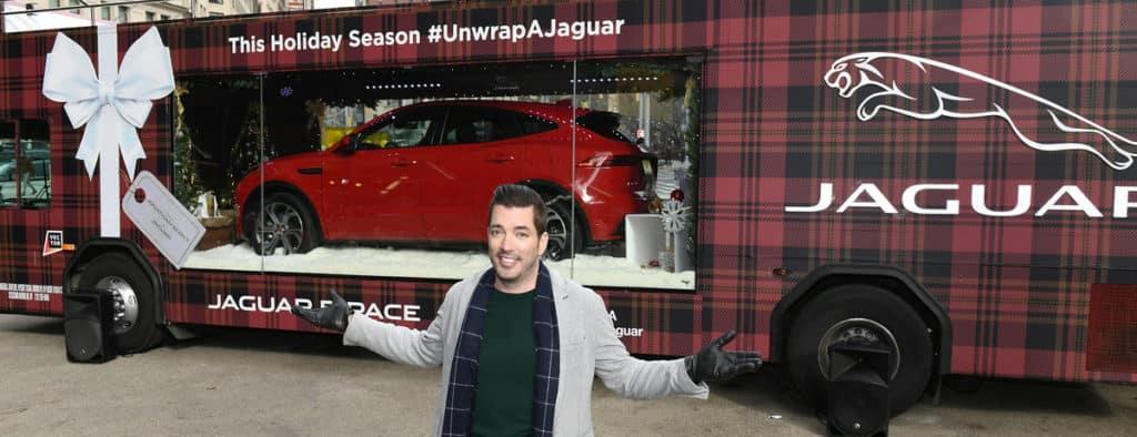 2019 Jaguar E-PACE holiday display