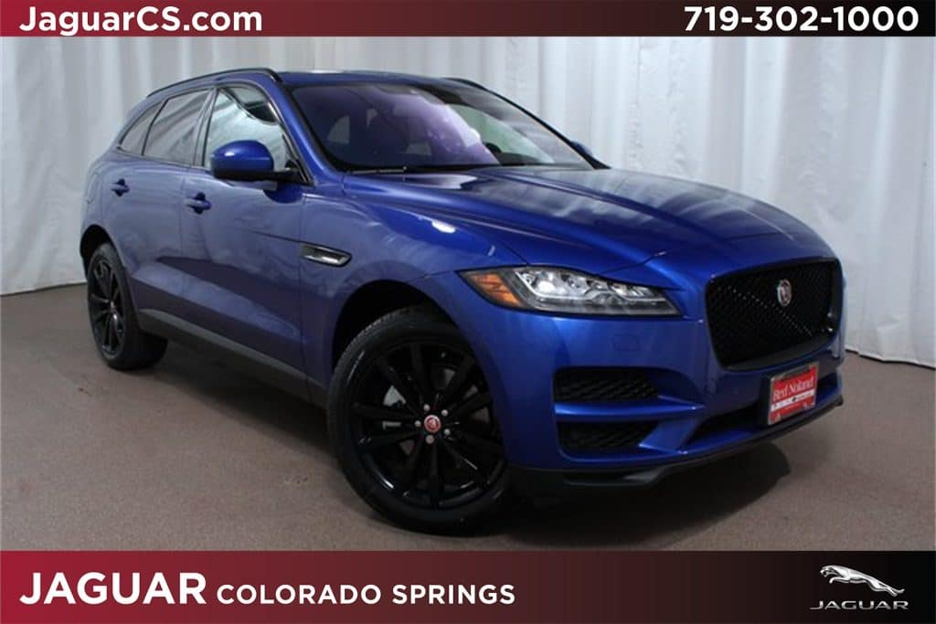 2018 Jaguar F-PACE luxury SUV