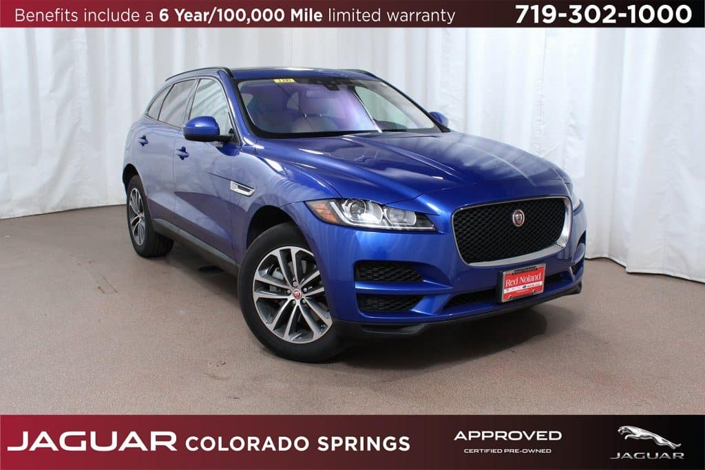 CPO 2018 Jaguar F-PACE for sale