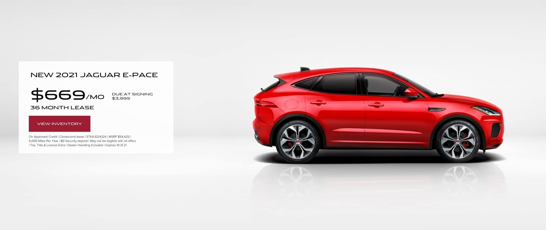 October E-Pace Hero