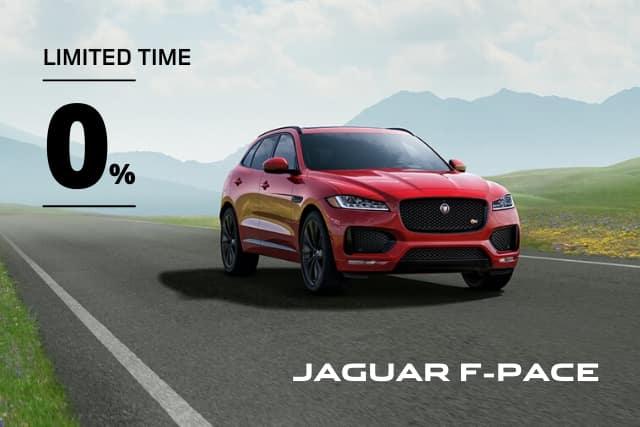 New 2020 Jaguar F-PACE