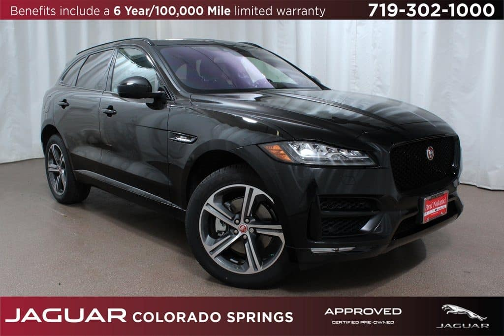 Approved CPO 2018 Jaguar F-PACE