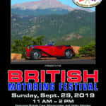 British Motoring Festival in Colorado Springs