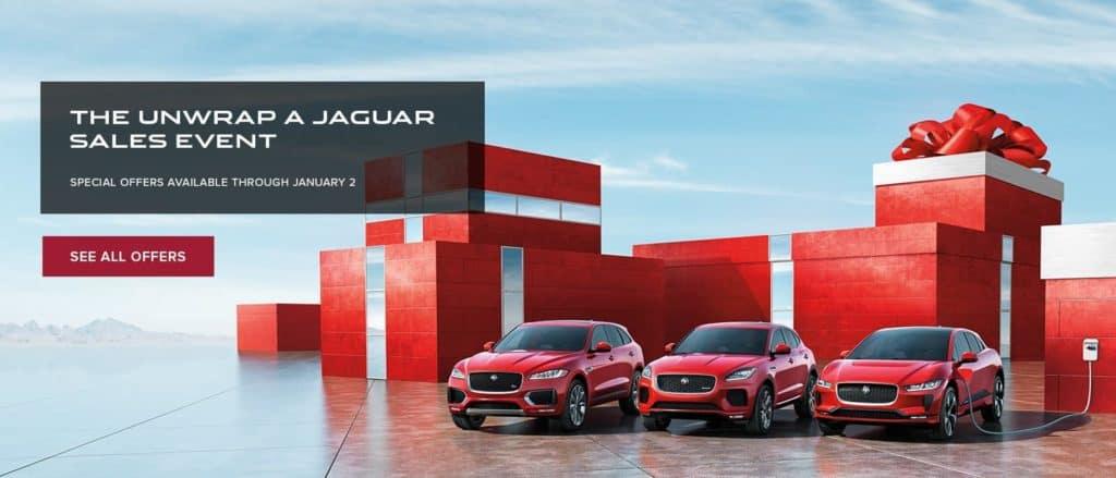 Enjoy a Jaguar for the holidays