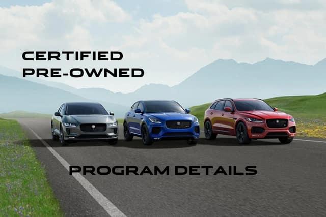 Certified Pre-Owned Jaguar Models