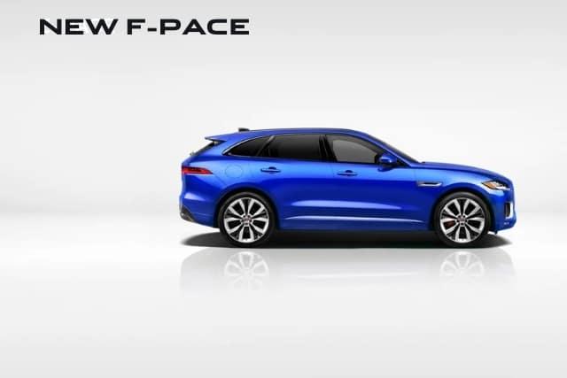 New 2021 Jaguar F-PACE