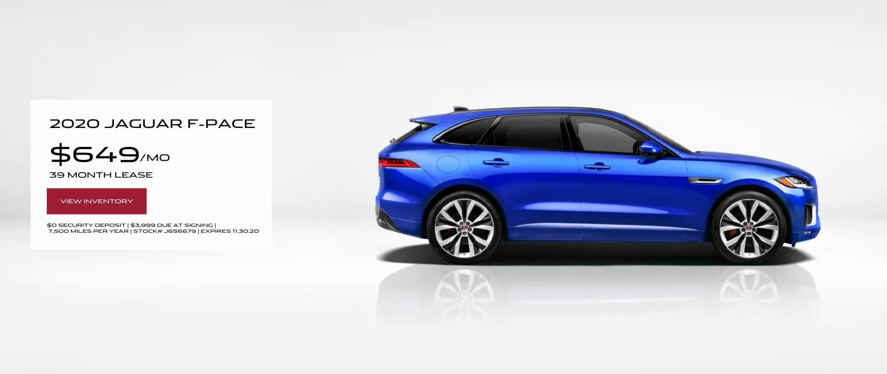 NOV F-PACE LEASE