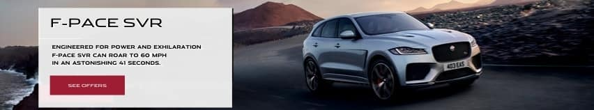 F-PACE SVR. See Offers