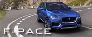 Jaguar F-Pace Banner