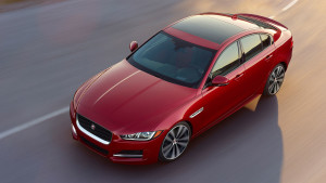 2017 Jaguar XE Red