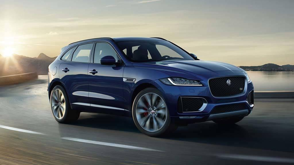 2018 Jaguar F-PACE Model Page Image