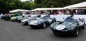 Jaguar Heritage Trust Line Up