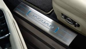 2017 Jaguar XJ Optional Lighted Stainless Steel Tread Plates