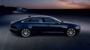 2017 Jaguar XJ Side View