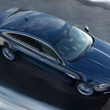 2017 Jaguar XJ Top View