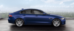 2018 Jaguar XE Caesium Blue