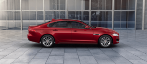2018 Jaguar XF Firenze Red