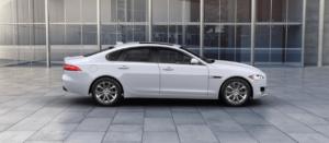 2018 Jaguar XF Yulong White