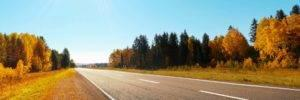 Autumn Road Background