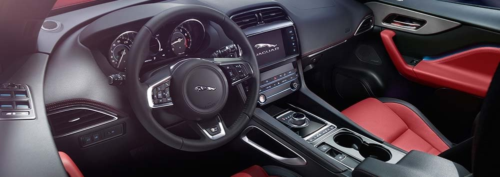 2018 Jaguar F-PACE Interior Technology