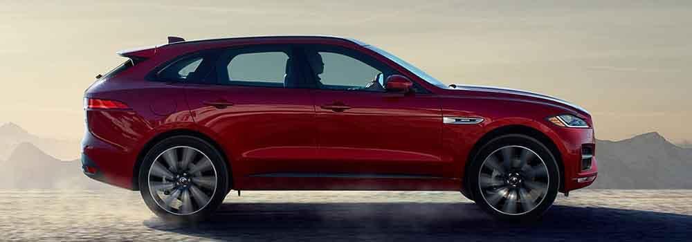 2018 Jaguar E-PACE Exterior