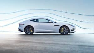 2019 Jaguar F-TYPE Coupe in Yulong White Side Profile