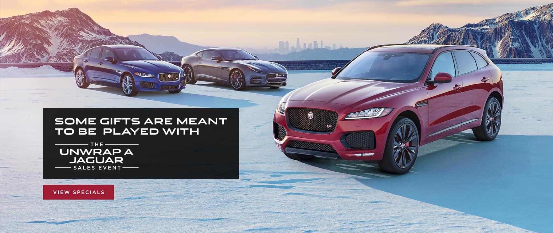 unwrap a jaguar event