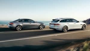 2019 Jaguar XF Driving